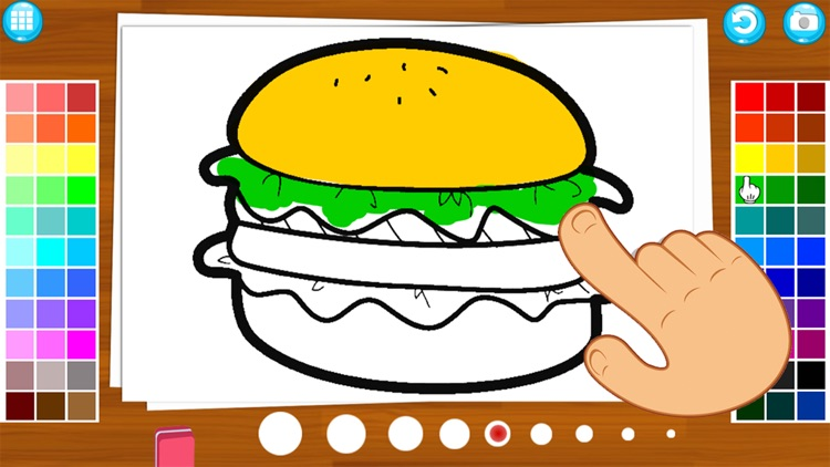 My Food Draw or Paint Learning screenshot-5