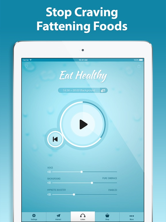 Screenshot #4 pour Eat Healthy Hypnosis PRO