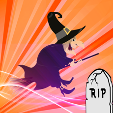 Activities of Halloween Flappy Witch Game