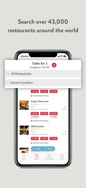OpenTable On The App Store - What is open table reservation