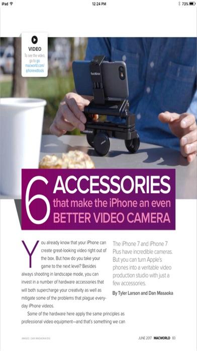 Macworld Digital Magazine Us review screenshots