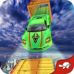Jumping Car Racing Stunts