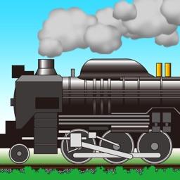 きしゃぽっぽ。【蒸気機関車に石炭入れてスピードアップ】SL