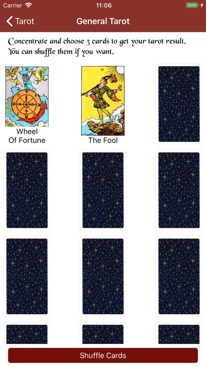 Tarot Card Reading Daily Tarot