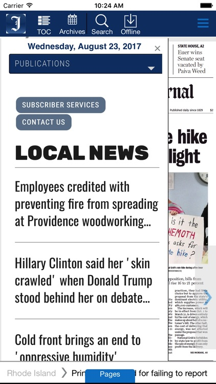 Providence Journal eEdition