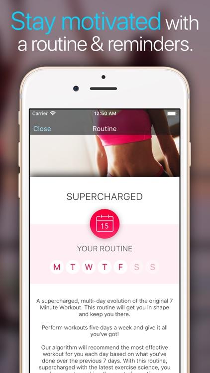 Wonder 7 Minute Workout App screenshot-4