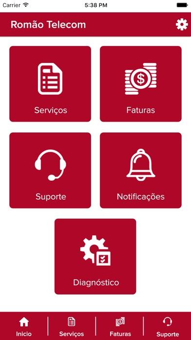 Romão Telecom Screenshot
