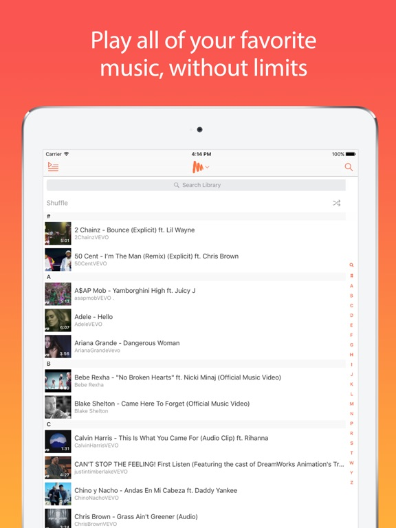 Musi - Unlimited YouTube Music Screenshot