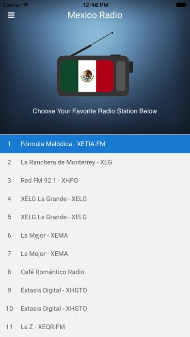 点击获取Mexico Radio - Mexican FM