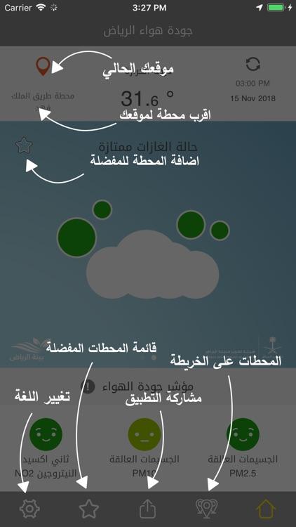 جودة هواء الرياض screenshot-4