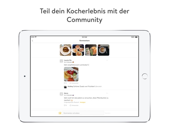 Kitchen Stories Rezepte Screenshot