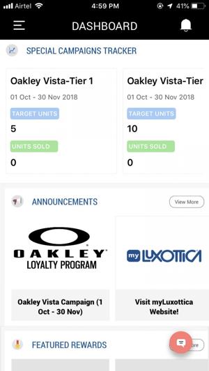 Oakley Loyalty Program on the App Store