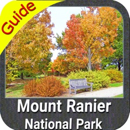 Mount Ranier National Park gps and outdoor map