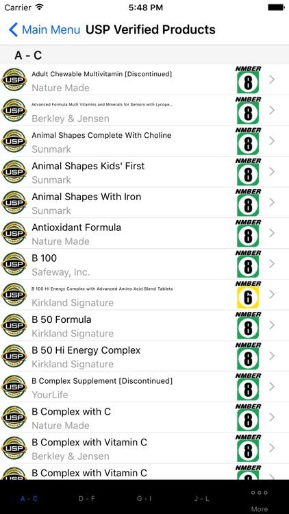 Natural Database Consumer Ed. screenshot-4
