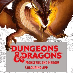 Dungeons & Dragons Coloring App