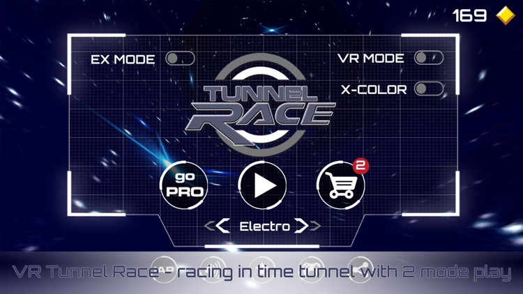 VR Tunnel Race Pro: Speed Rush