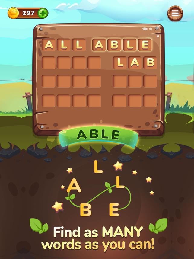 Word Farm Anagram Word Game