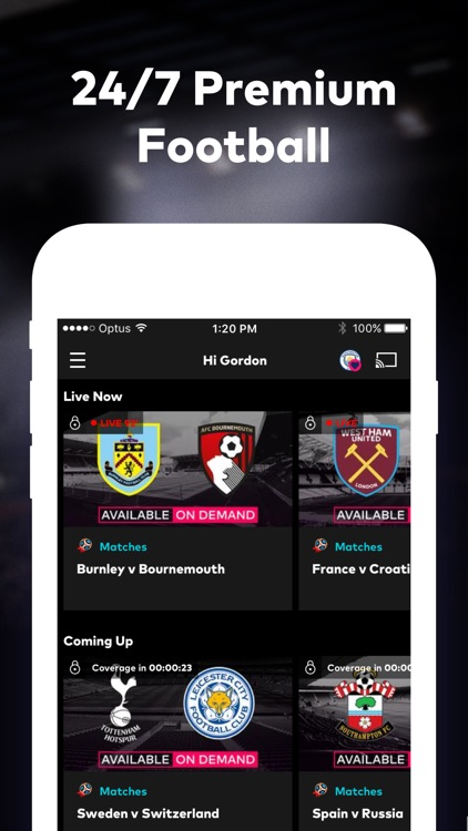 Optus Sport screenshot-0