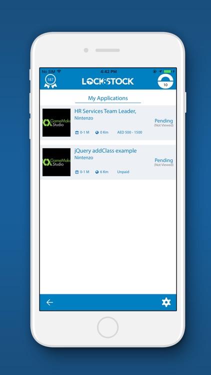 Lock&Stock - Student Lifestyle screenshot-4