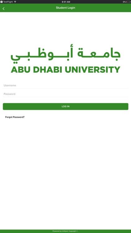 Abu Dhabi University screenshot-3