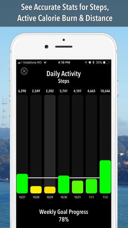 ActivityTracker Step Counter