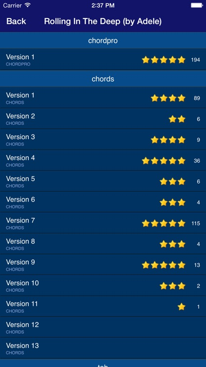 GuitarTapp PRO - Tabs & Chords screenshot-3