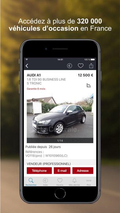 download La Centrale - voiture occasion apps 1