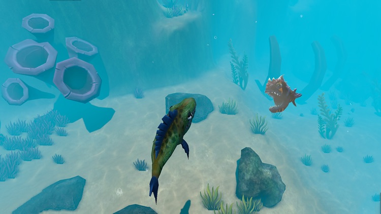 GIANT OCEAN MONSTER - FEED AND GROW FISH screenshot-3