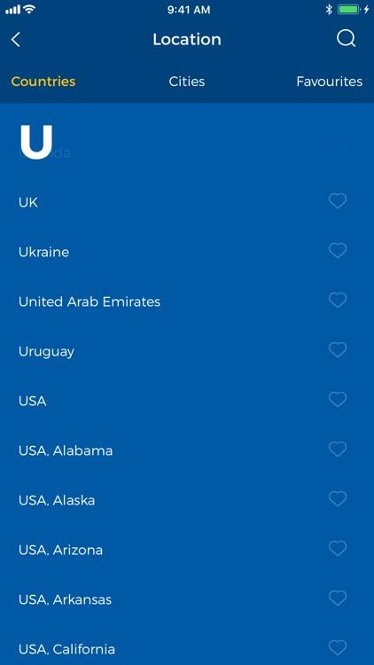 HMA! Hotspot VPN & Proxy screenshot-3