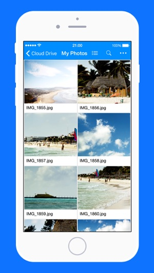 upload iphone pictures to amazon cloud
