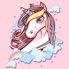 Cute My Little Unicorn House Coloring Book icon