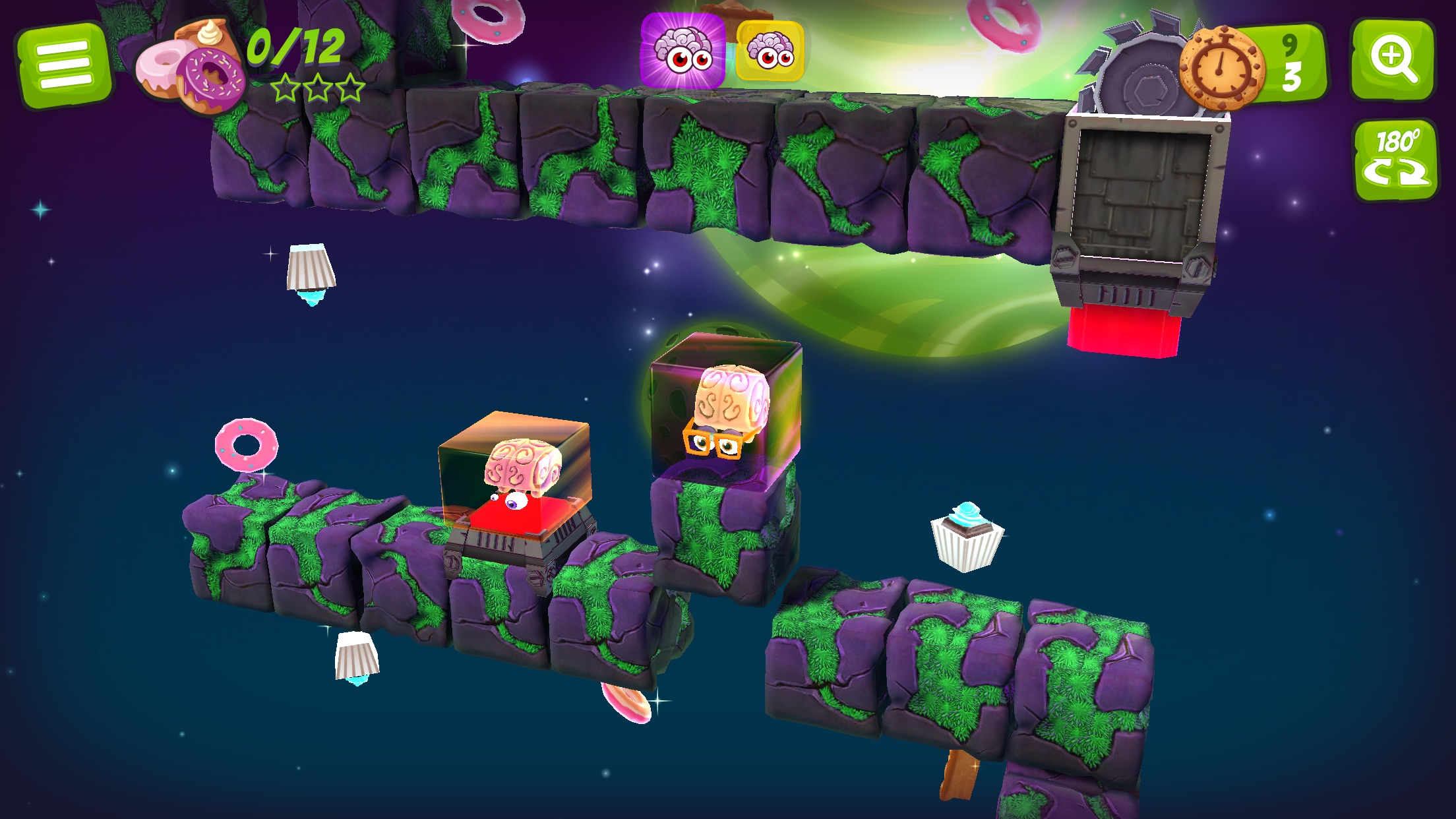 Screenshot do app Alien Jelly: Food For Thought