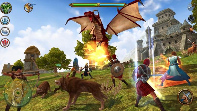 3D MMO Celtic Heroes screenshot-0