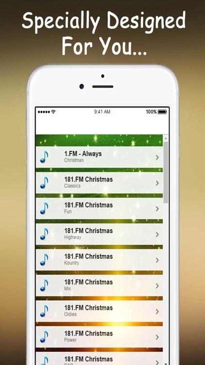 Christmas Music Stations Live.
