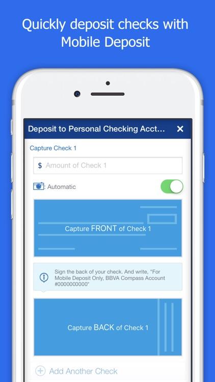BBVA Compass Mobile Banking screenshot-3