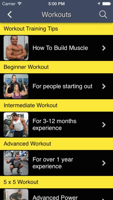 Total Fitness Bodybuilding Appのおすすめ画像2