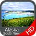 Marine : Alaska South West HD - GPS Map Navigator