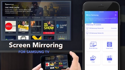 Mirror for Samsung TV Streamer Screenshots