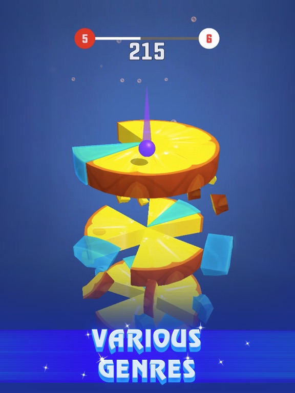 Helix Crush - Fruit Slices screenshot 10