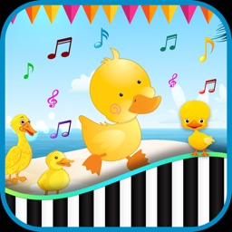 Duck Piano Game For Kids