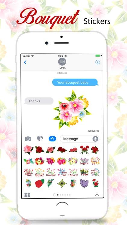 Bouquet Stickers Pack screenshot-4