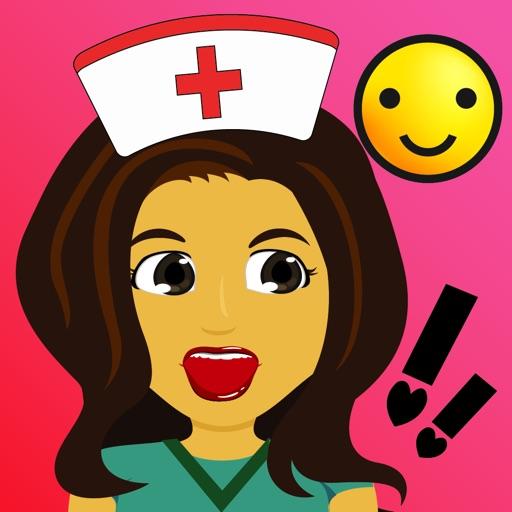 Nurse Moji-Nursing Emoji