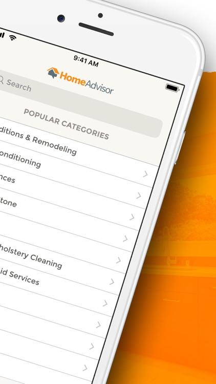 HomeAdvisor: Find a Contractor screenshot-8