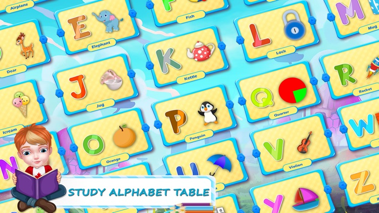 ABC Alphabet Learning Game.s