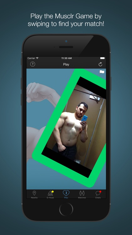 Musclr - Gay Muscle Dating screenshot-3