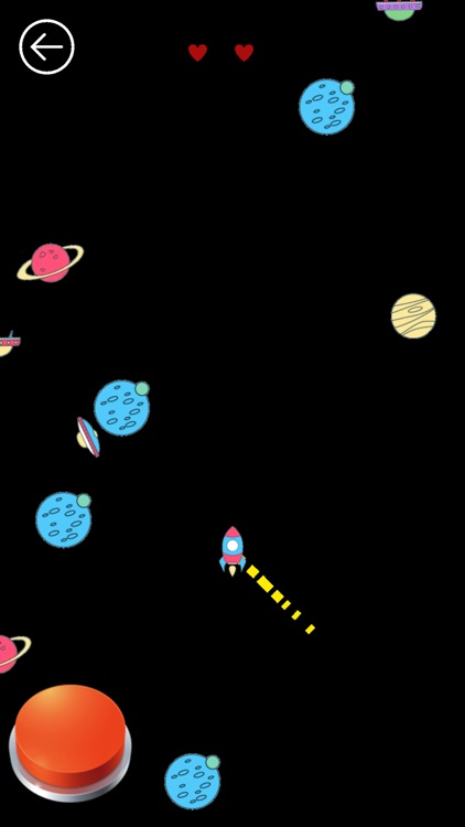 Coloured Asteroids - Space