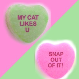 Sweet Sour Candy Hearts