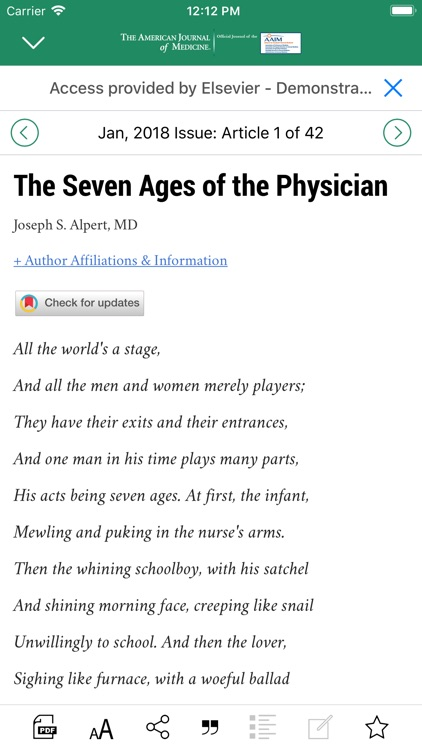 American Journal of Medicine screenshot-3