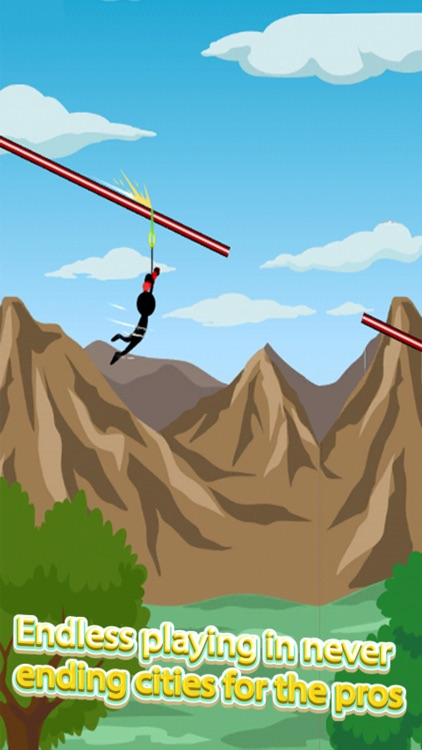 Swing Star: Stick Man Games