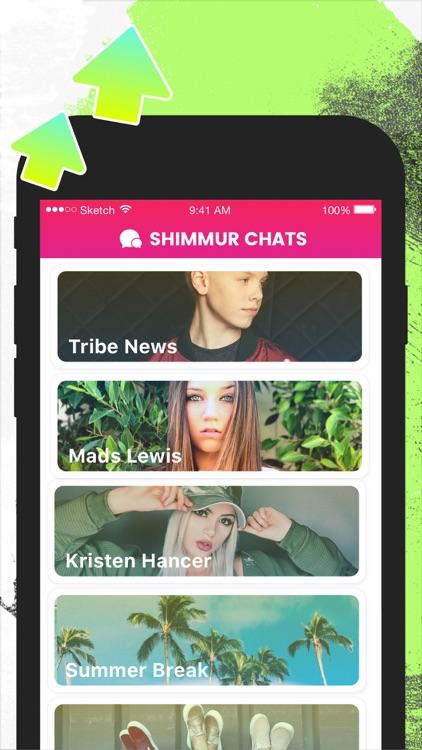 Shimmur - get noticed screenshot-3